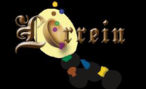Het logo van het bordspel Lorrein