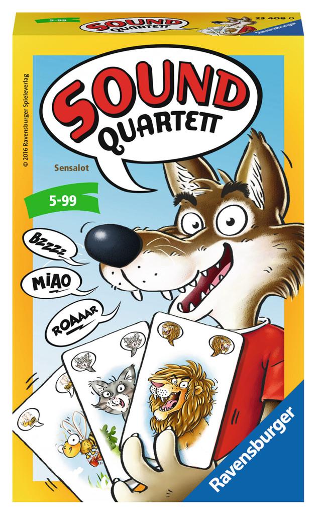 Kwartetten met dierengeluiden dat wordt lachen